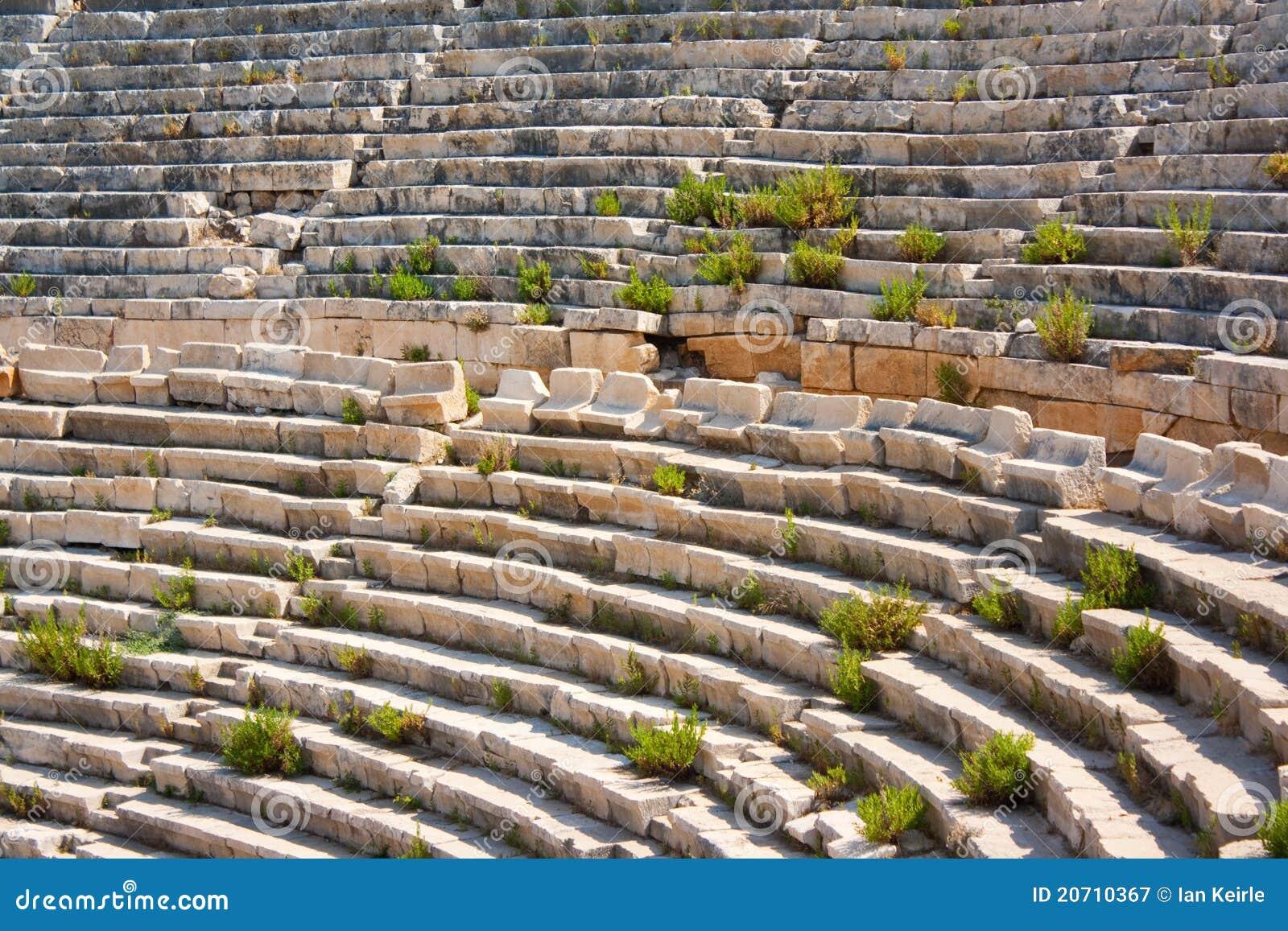 Patara amphitheatre 1