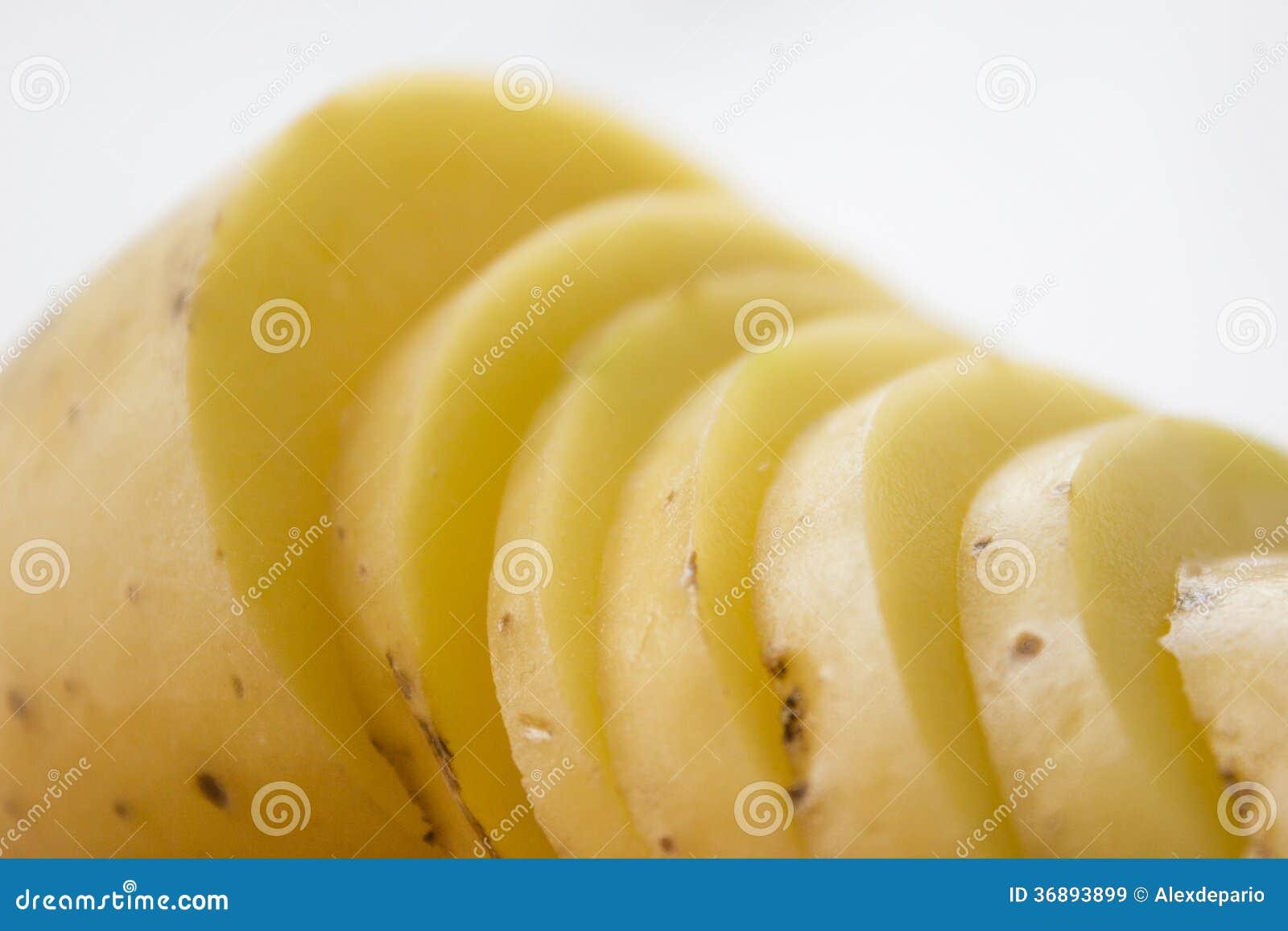 Download Patata affettata immagine stock. Immagine di frutta, alimento - 36893899