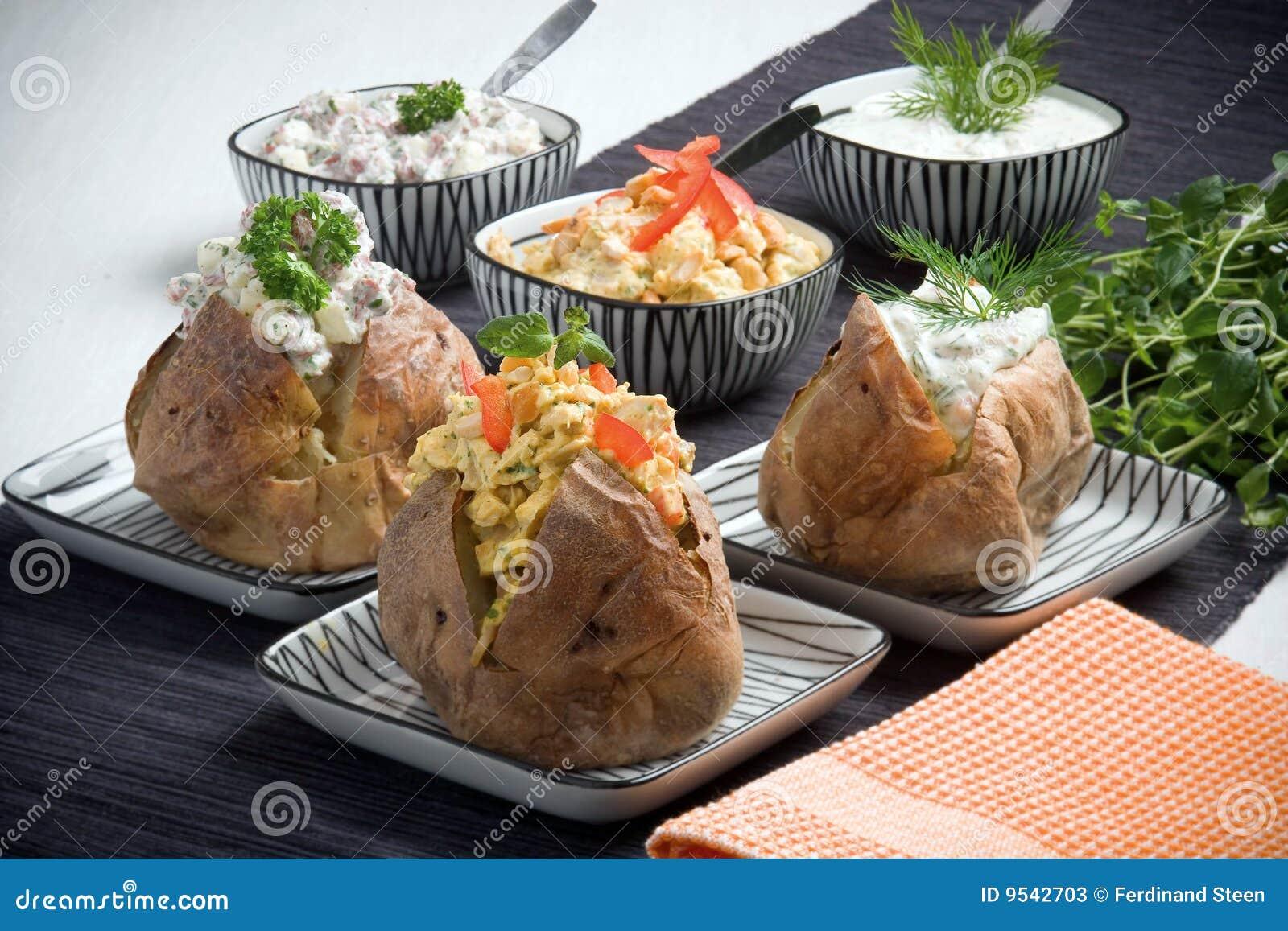 Patata cocida al horno