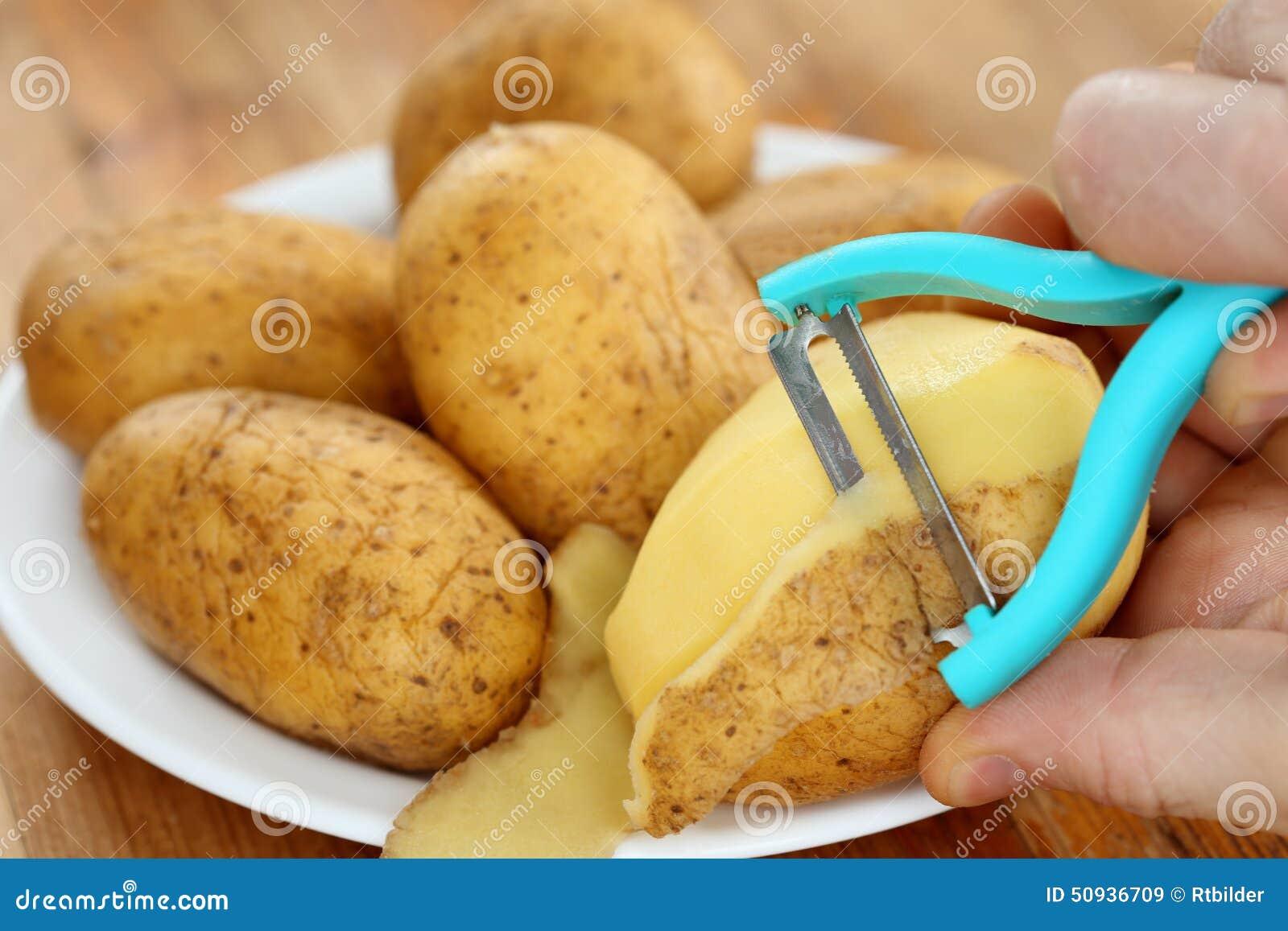 Patata e buccia