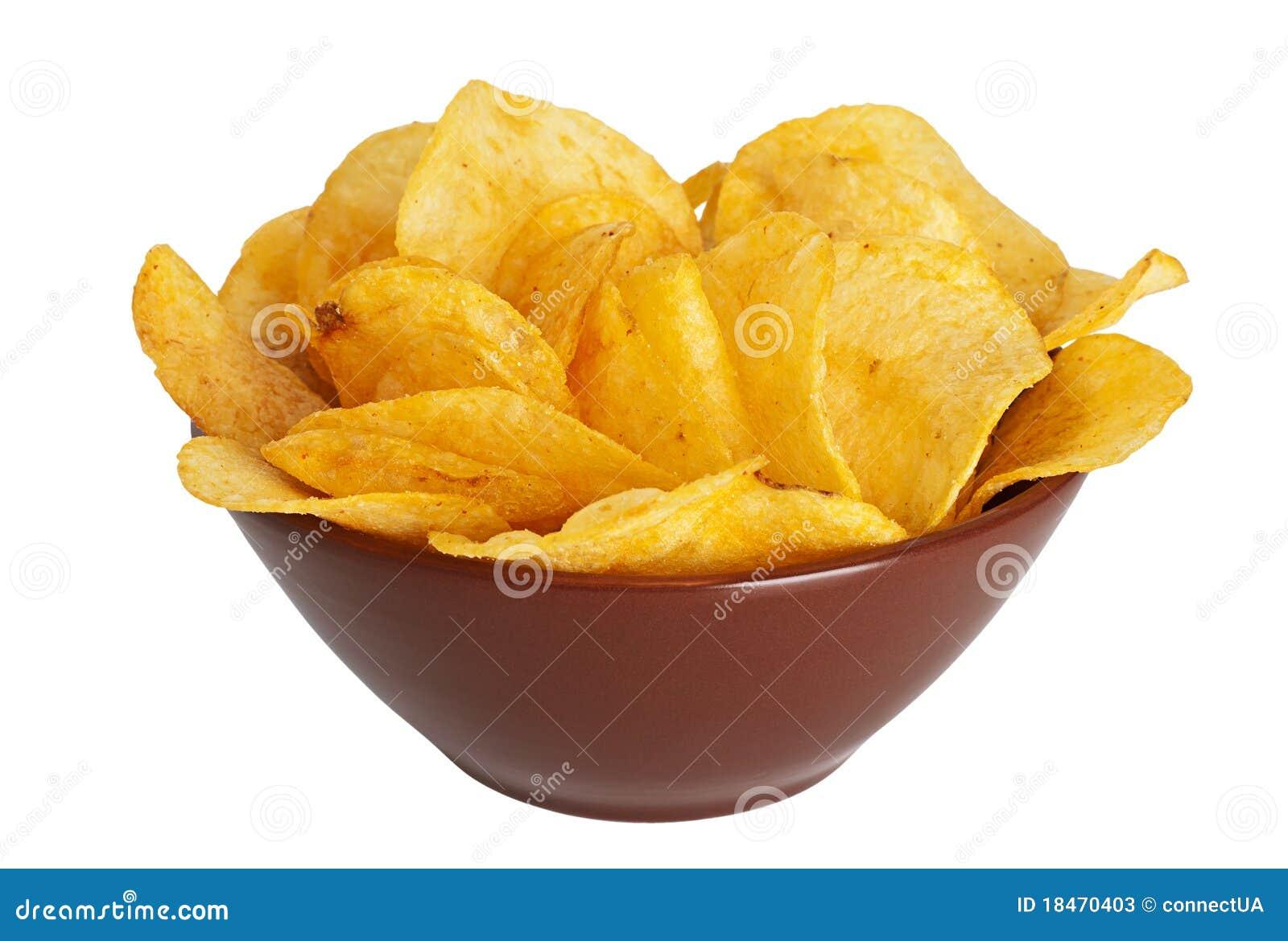 Patata frito adentro un plato