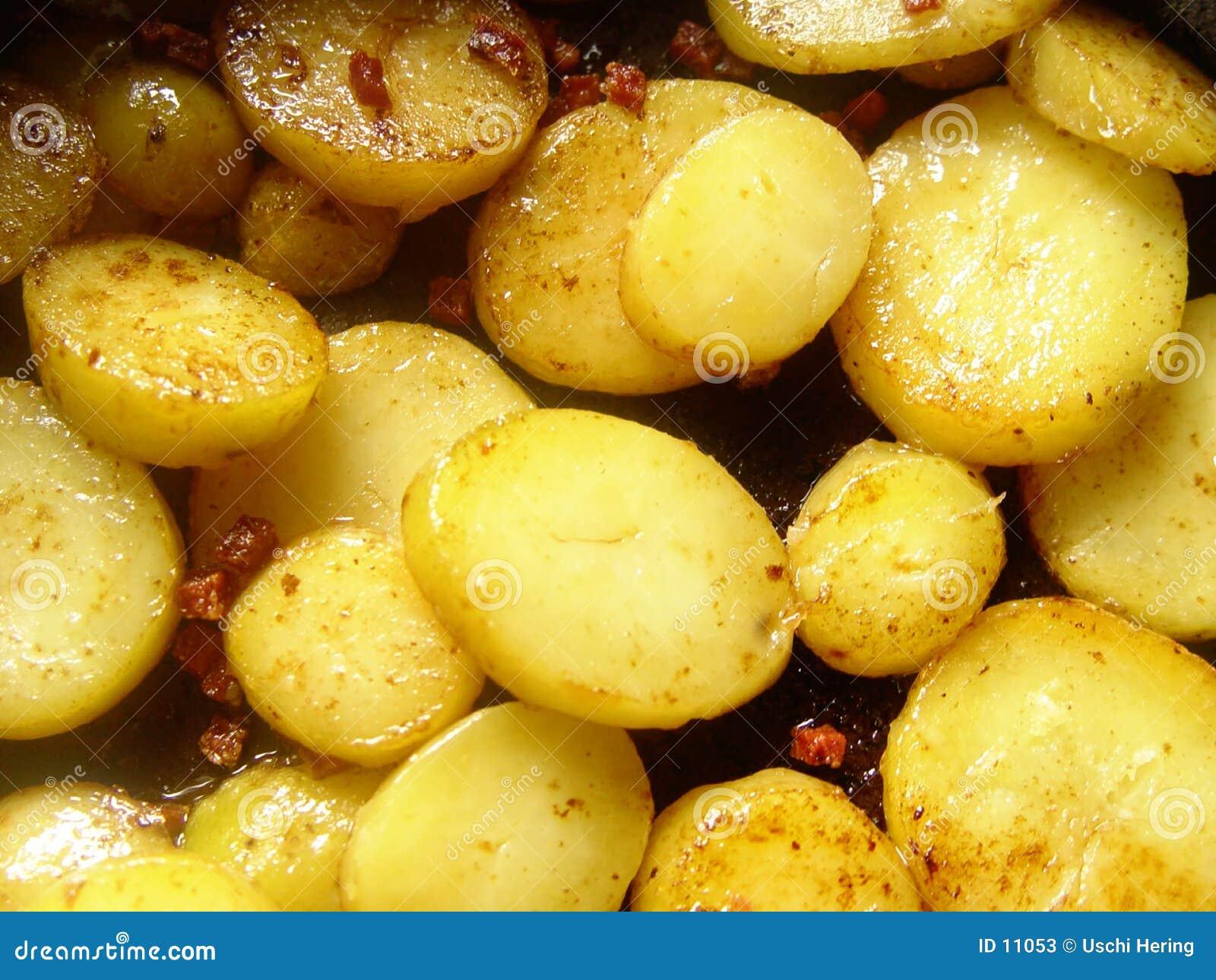 Patatas de la carne asada
