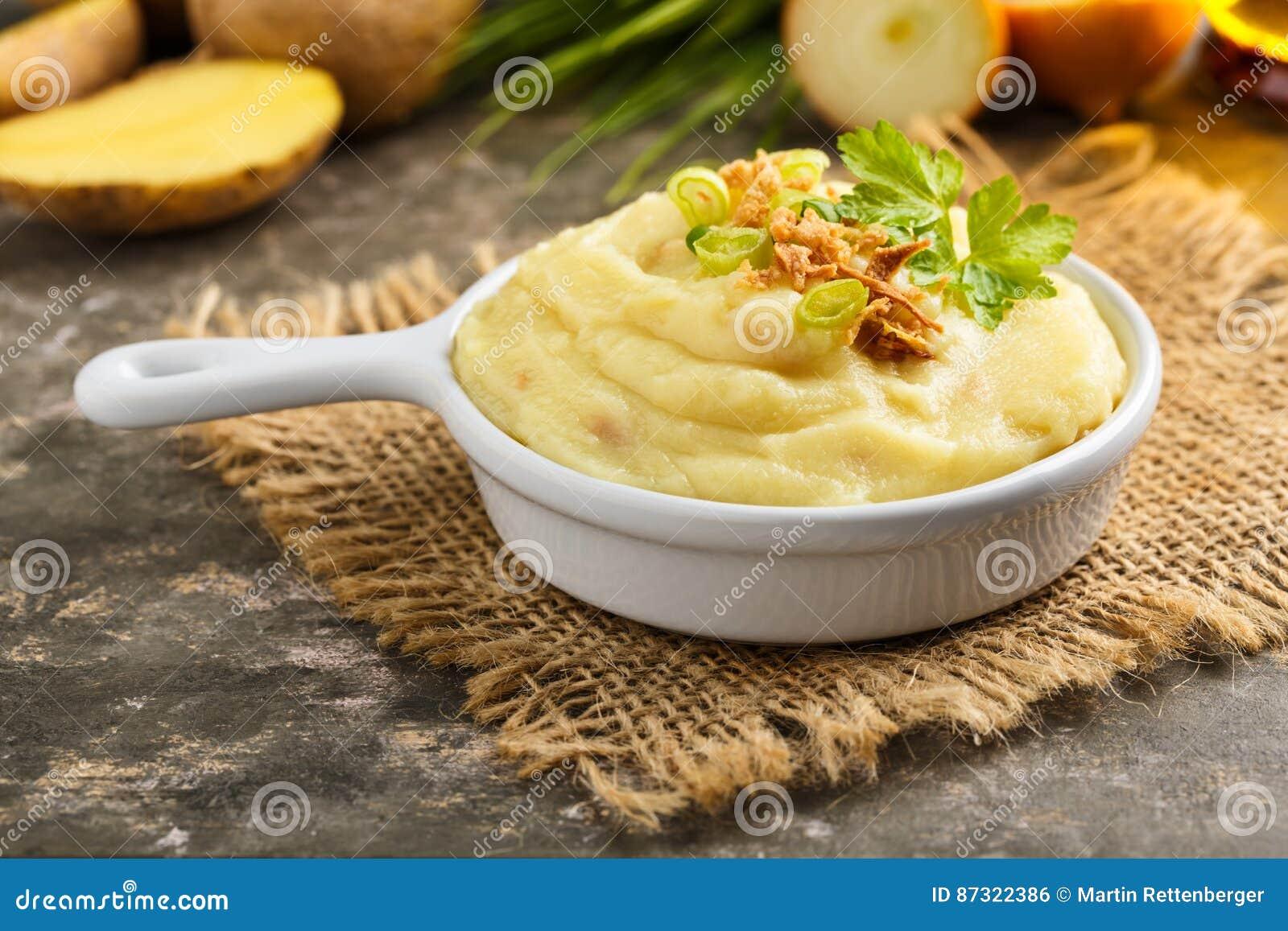 Patatas trituradas