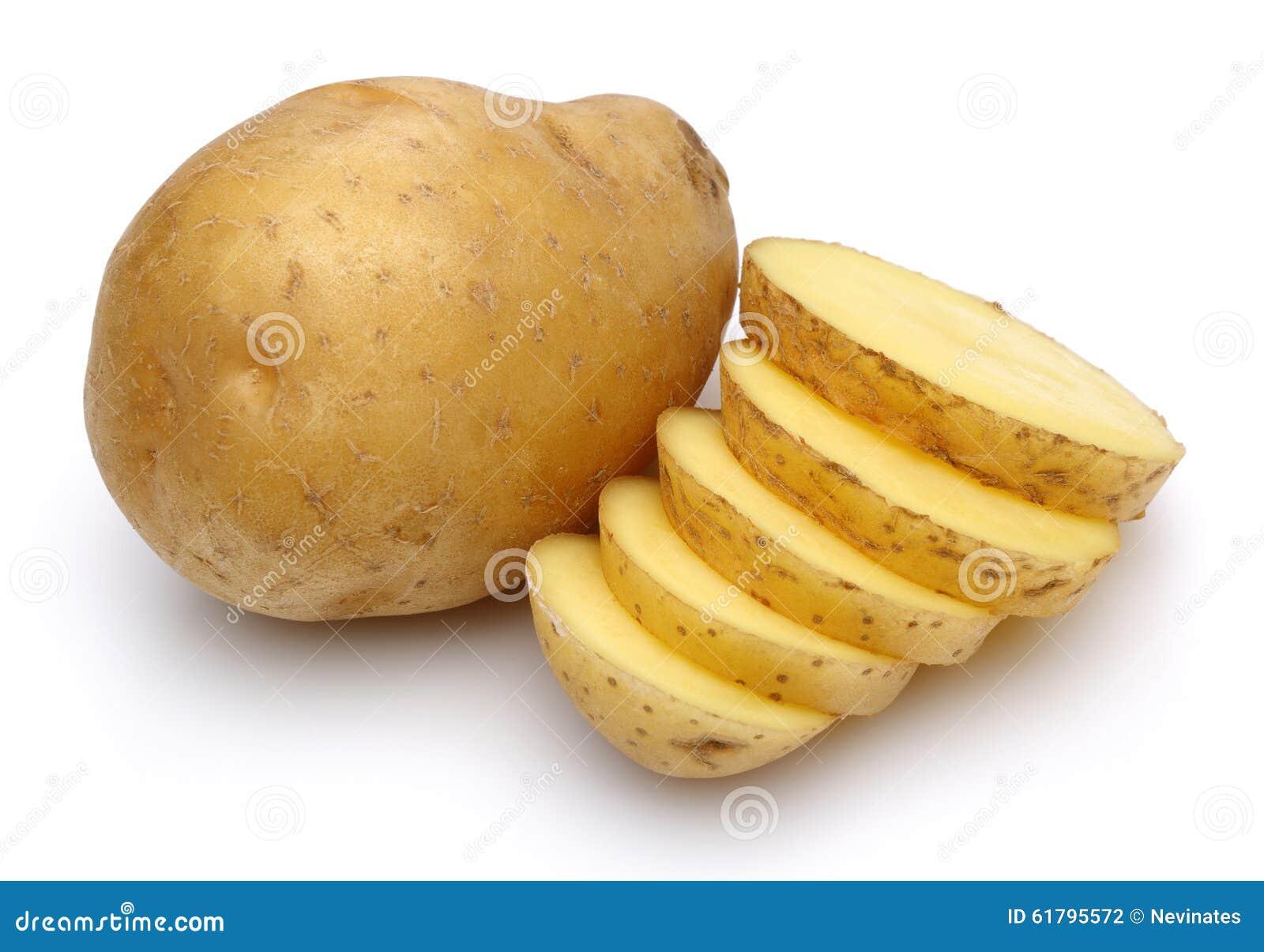 Patate crude e patate affettate