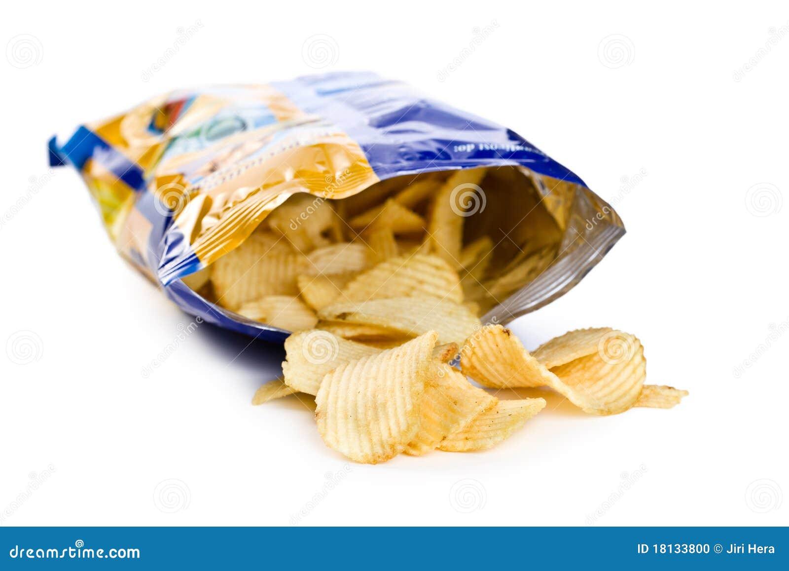 Patatina dentro il sacchetto