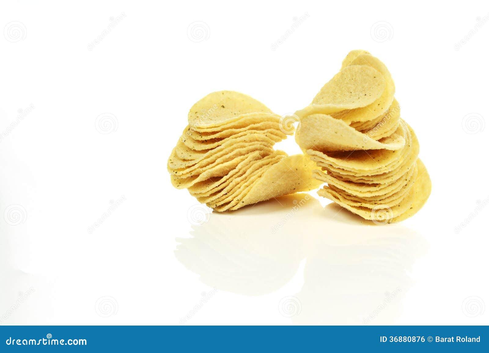 Download Patatine fritte fotografia stock. Immagine di chip, squisito - 36880876