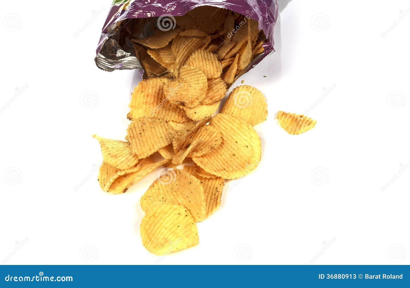 Download Patatine fritte immagine stock. Immagine di piatto, calorie - 36880913
