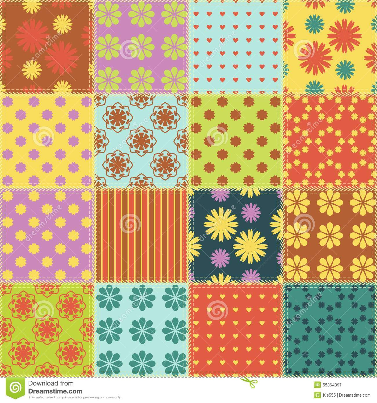 patchwork background patchwork background stock photo cartoondealer com 35696058 5288