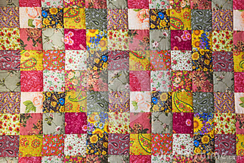 Patchwork Quilt Stock ...