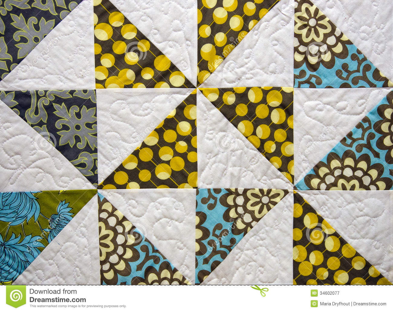 Patchwork Quilt Stock Image Image Of Antique Pattern