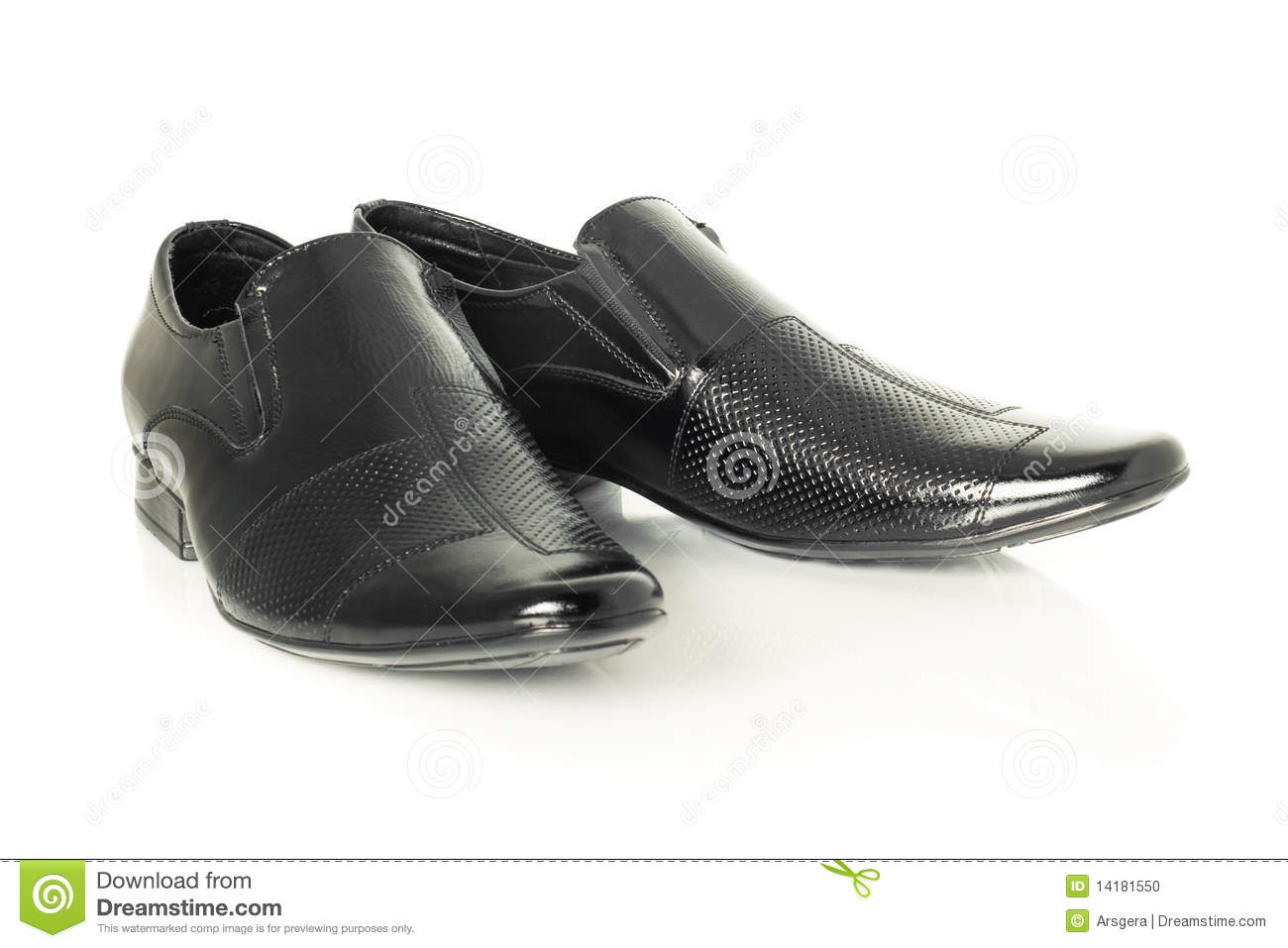 patent leather shoes on white stock photo image 14181550