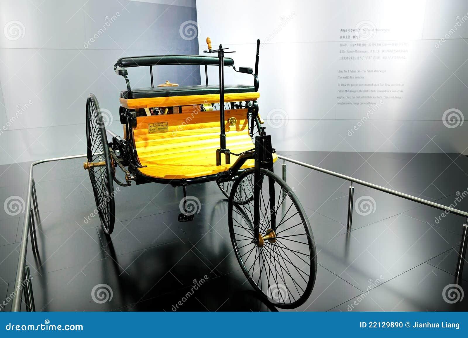 Patentauto â des Benz-No.1 das Patent Motorwagen