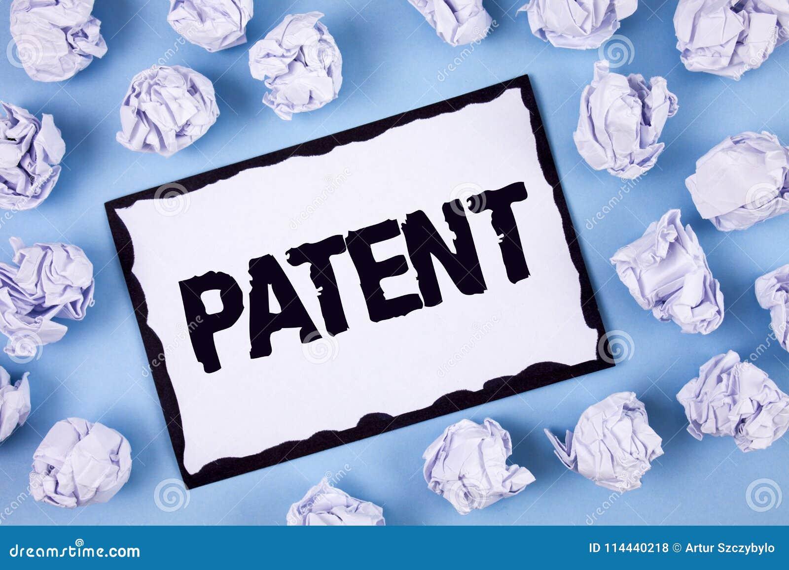 Patente del texto de la escritura de la palabra Concepto del negocio para la licencia que da las derechas para usar la venta haci
