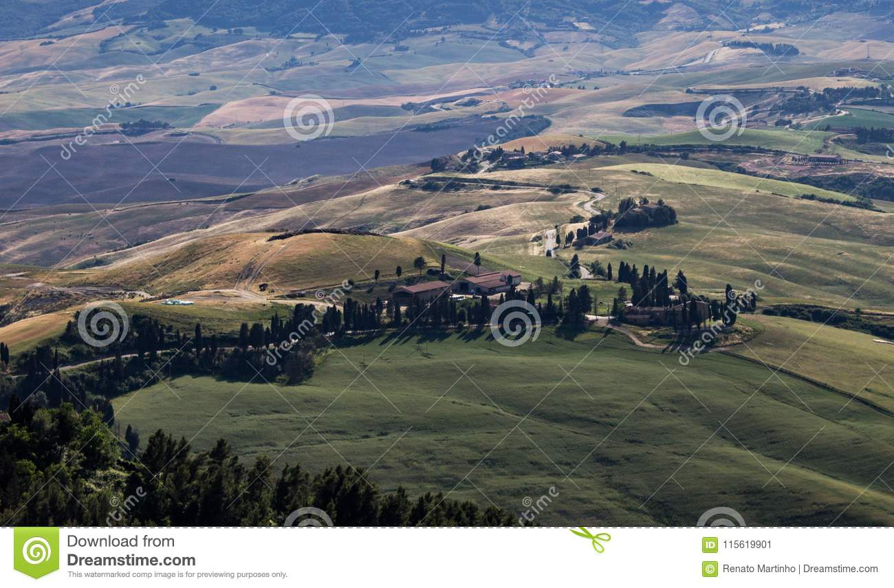Countryside Path in Tuscany