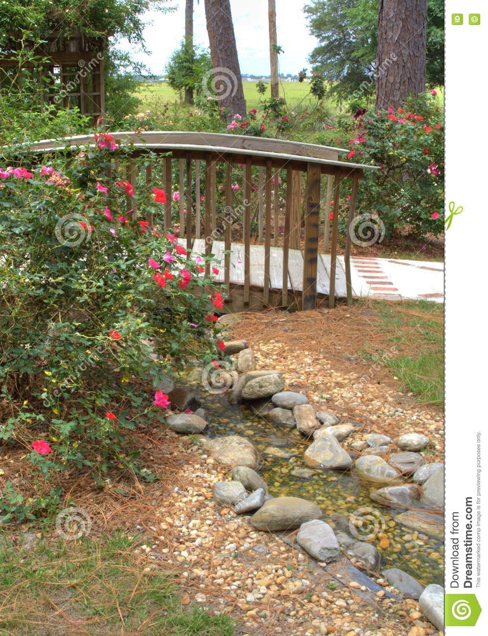 Stock Images Path In The Garden Picture Image 2665254
