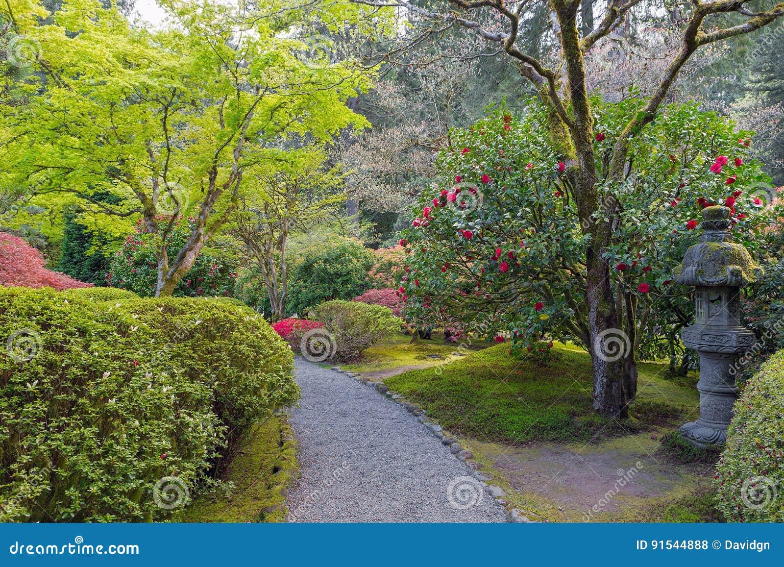 Path At Japanese Garden