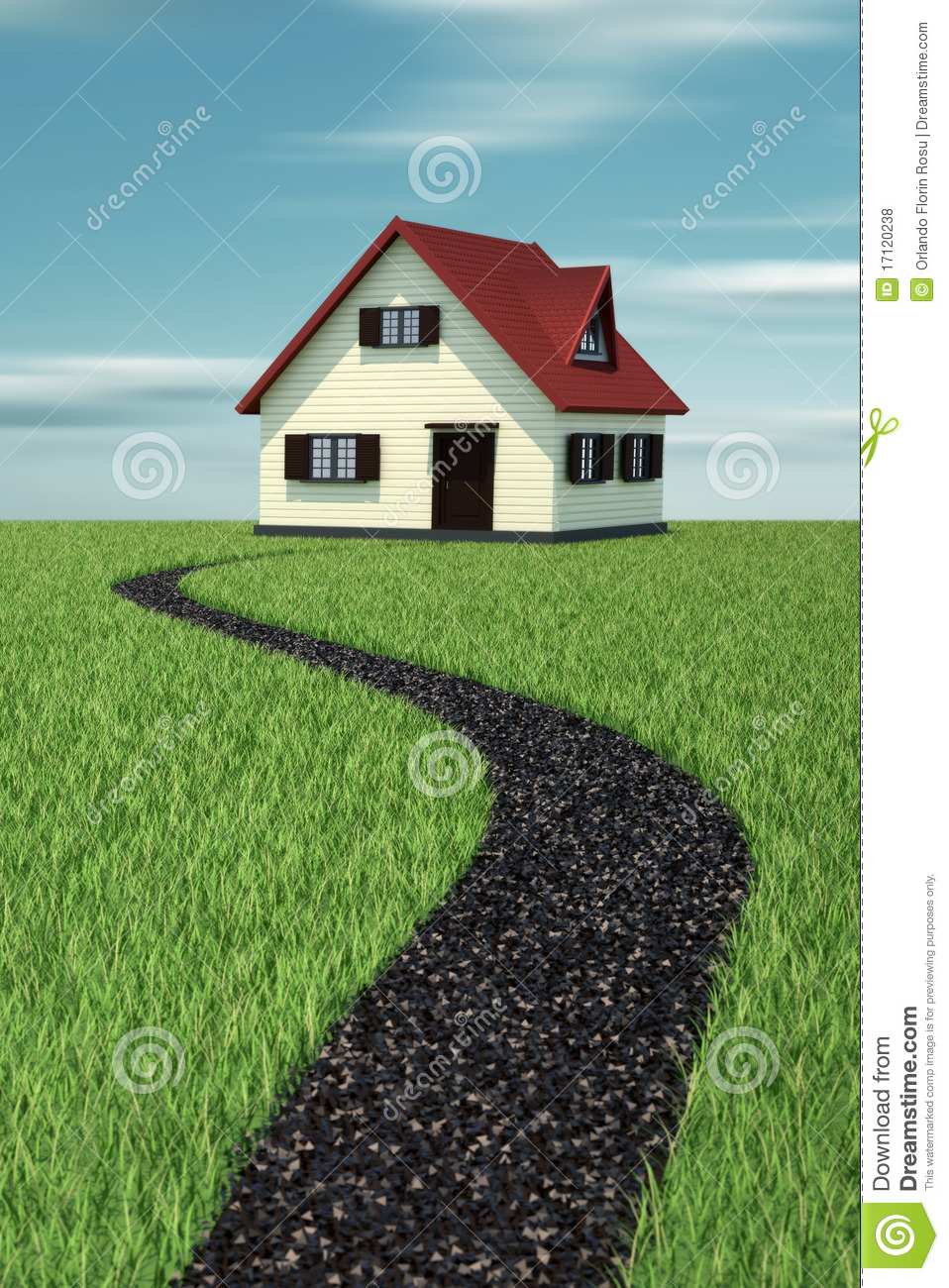 Path to house royalty free stock photos image 17120238 for Free house photos