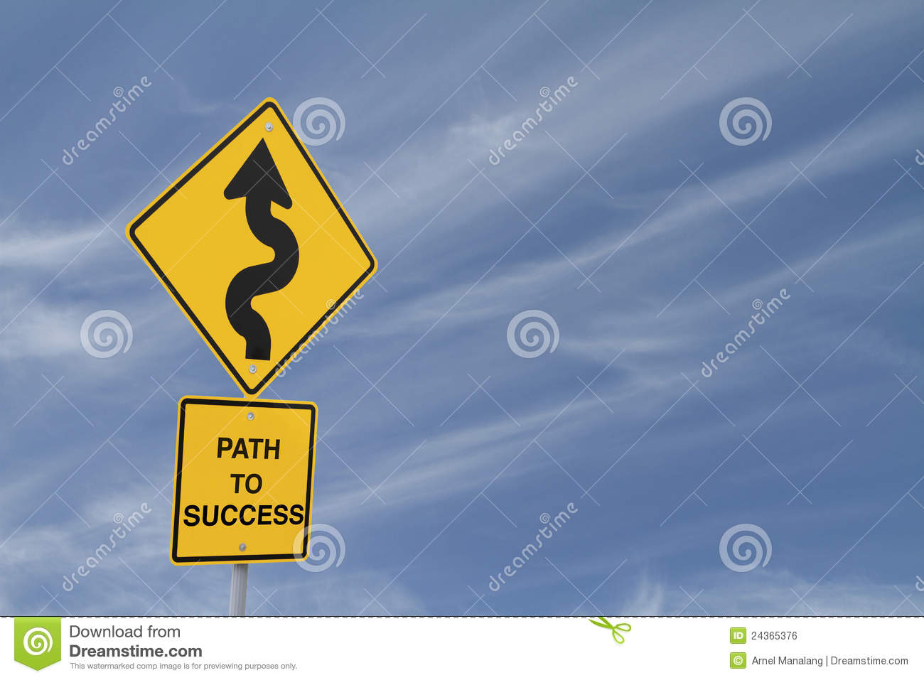 a path to success The path to success in anything meaningful is long and journey will be challenging but that's exactly why it's worth it embrace the journey.