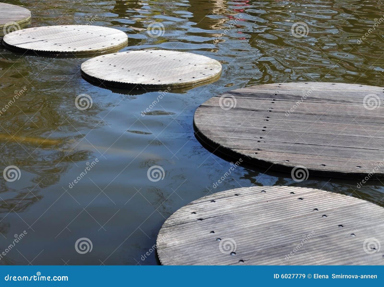 Path through water