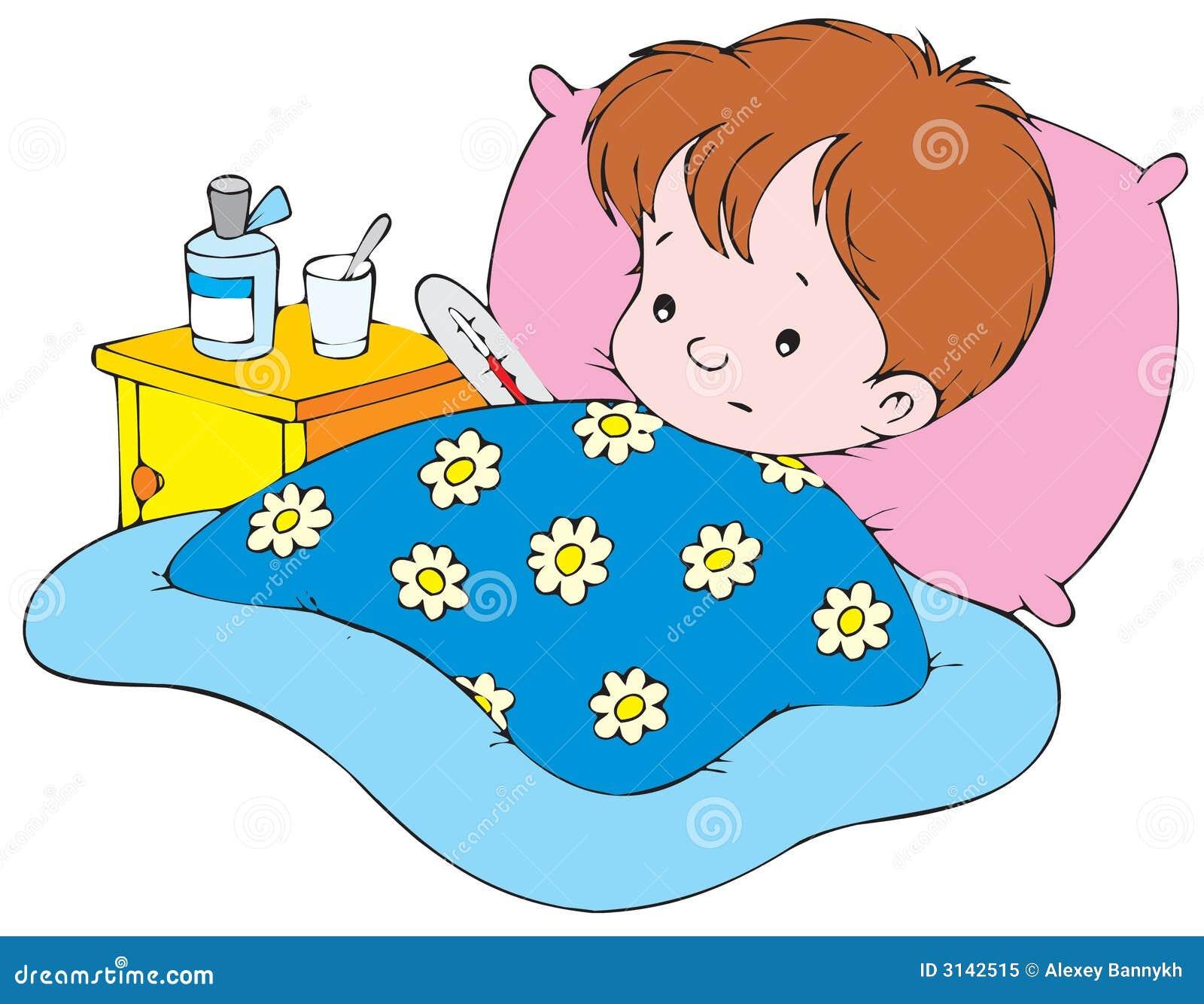 Free Cartoon Hospital Bed