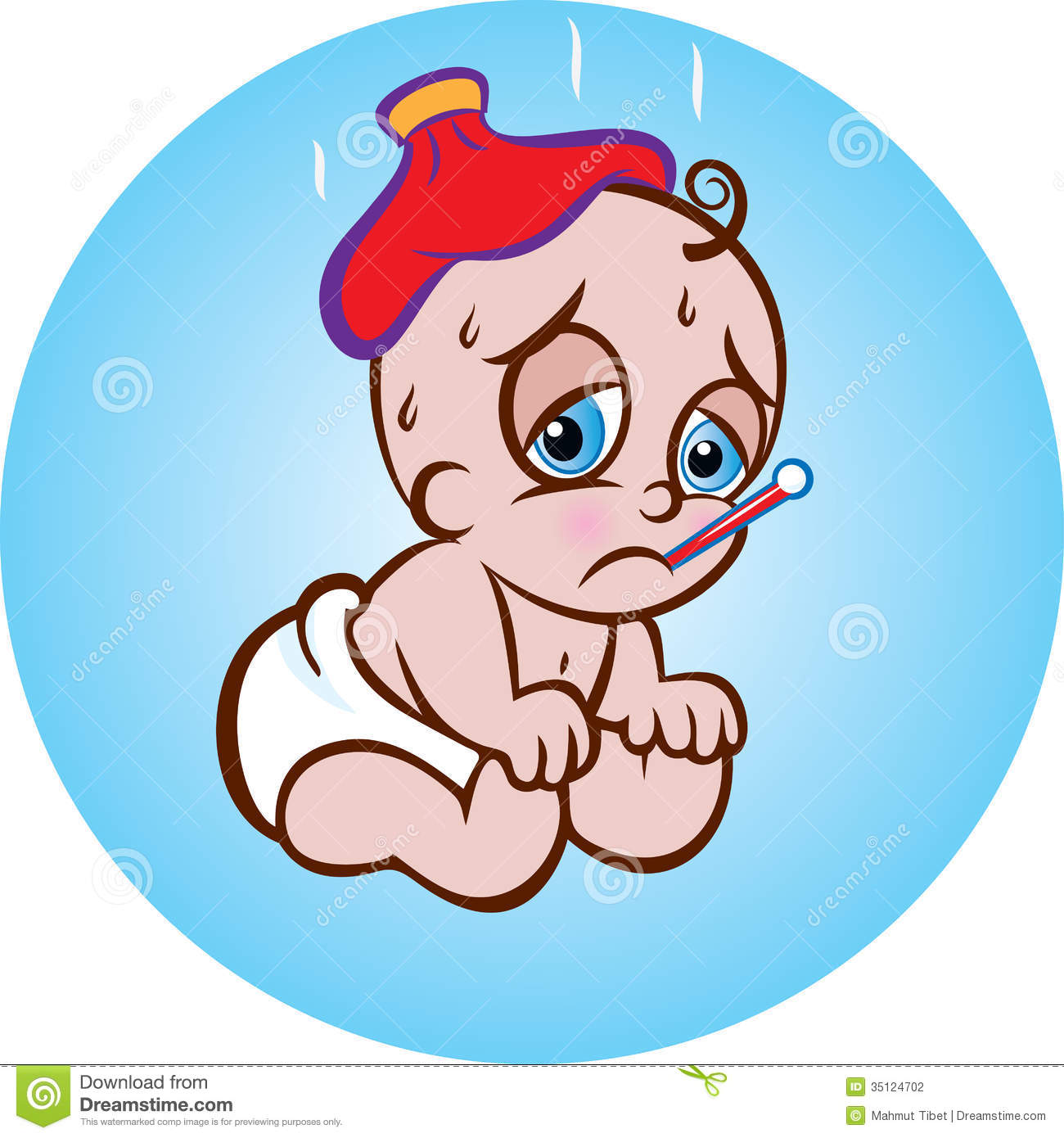 Patient Baby Stock Photography Image 35124702