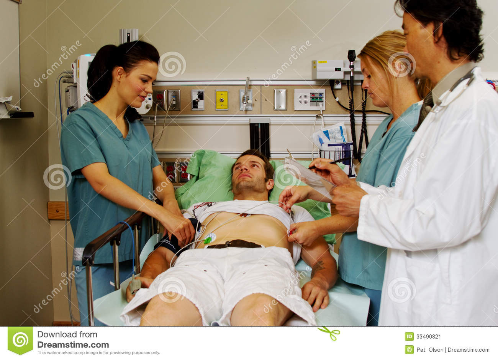 Adult male exam medical foreskin uncut 3