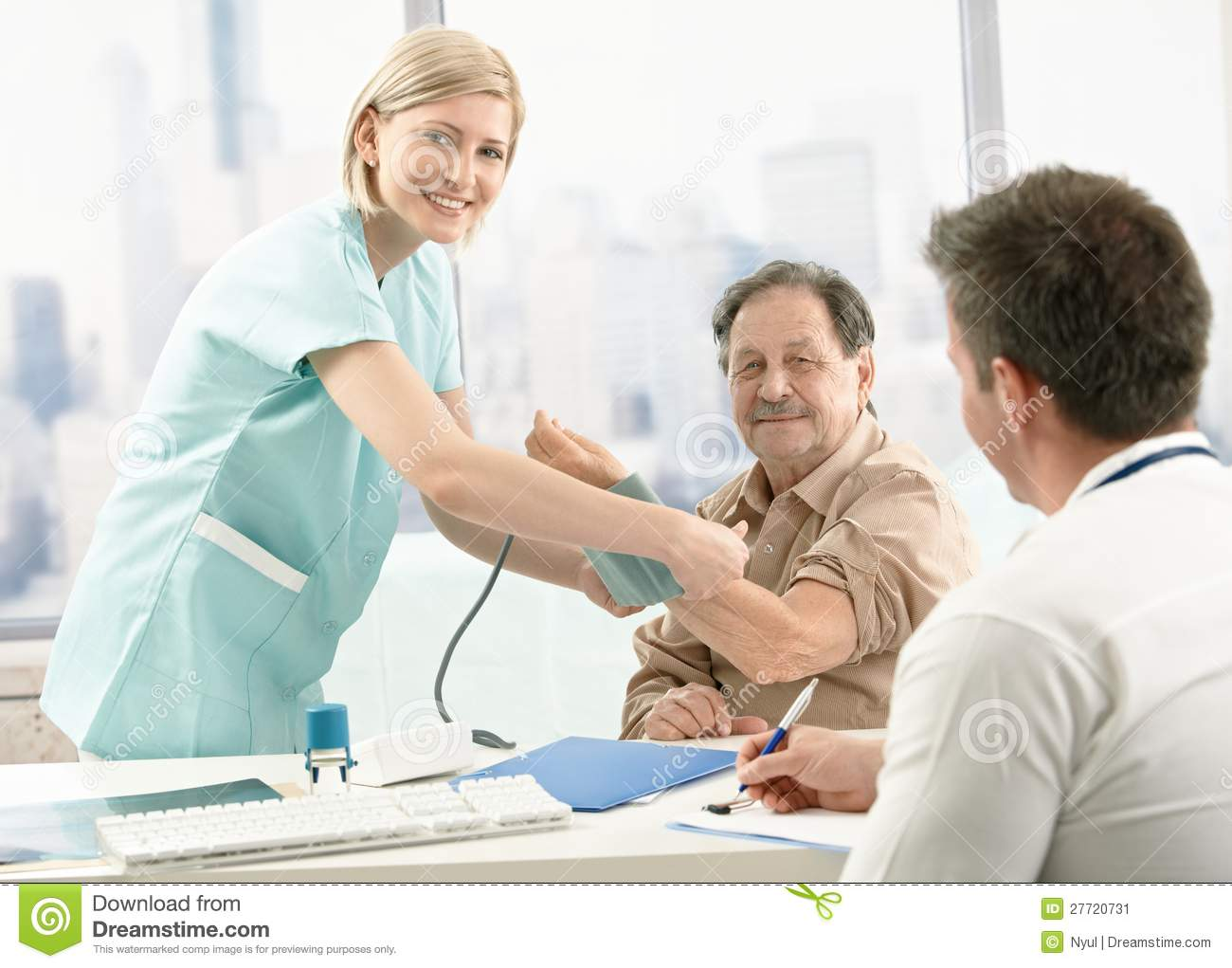 Patient Examination in Dental Clinic. Stock Footage Video