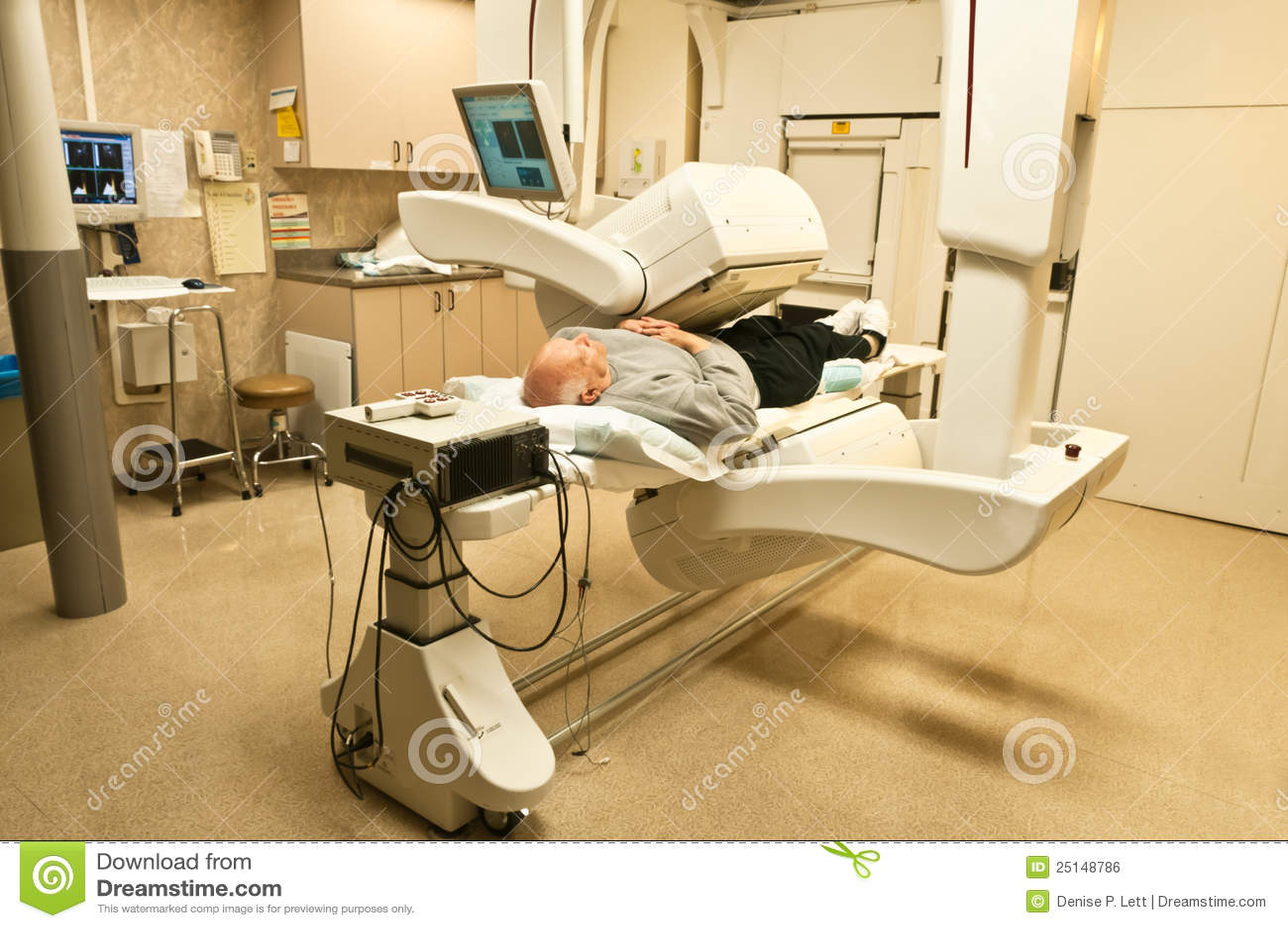 Patient Gamma Camera Bone Scan