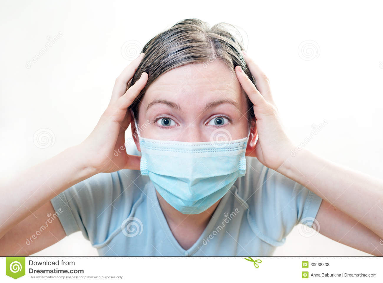 Of Mask Crisis Image - Photo Patient In Condition Stock