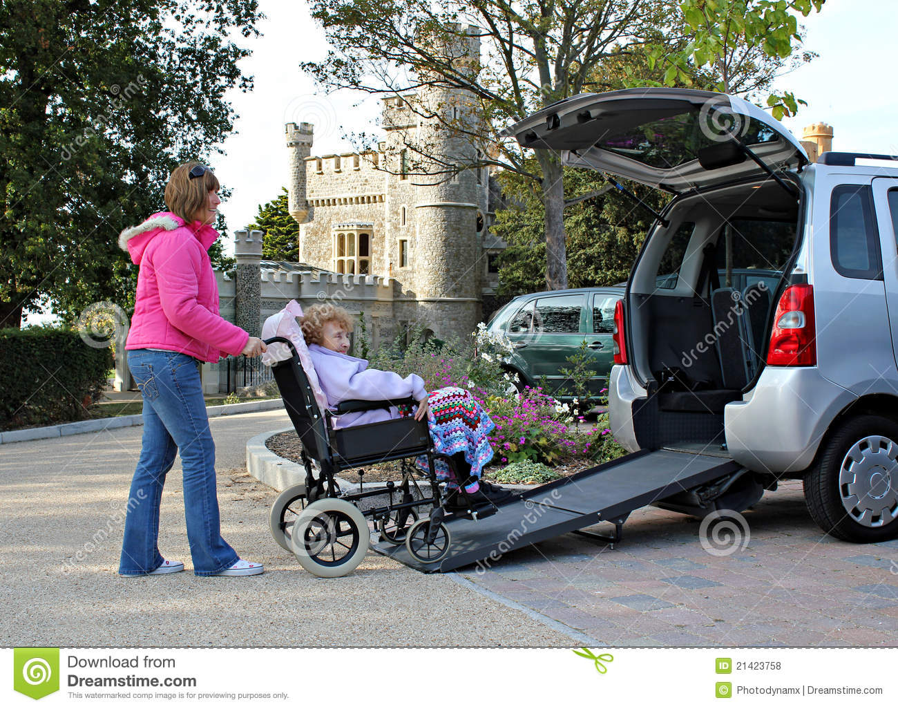 patient mobility transport for disabled stock photo image 21423758. Black Bedroom Furniture Sets. Home Design Ideas