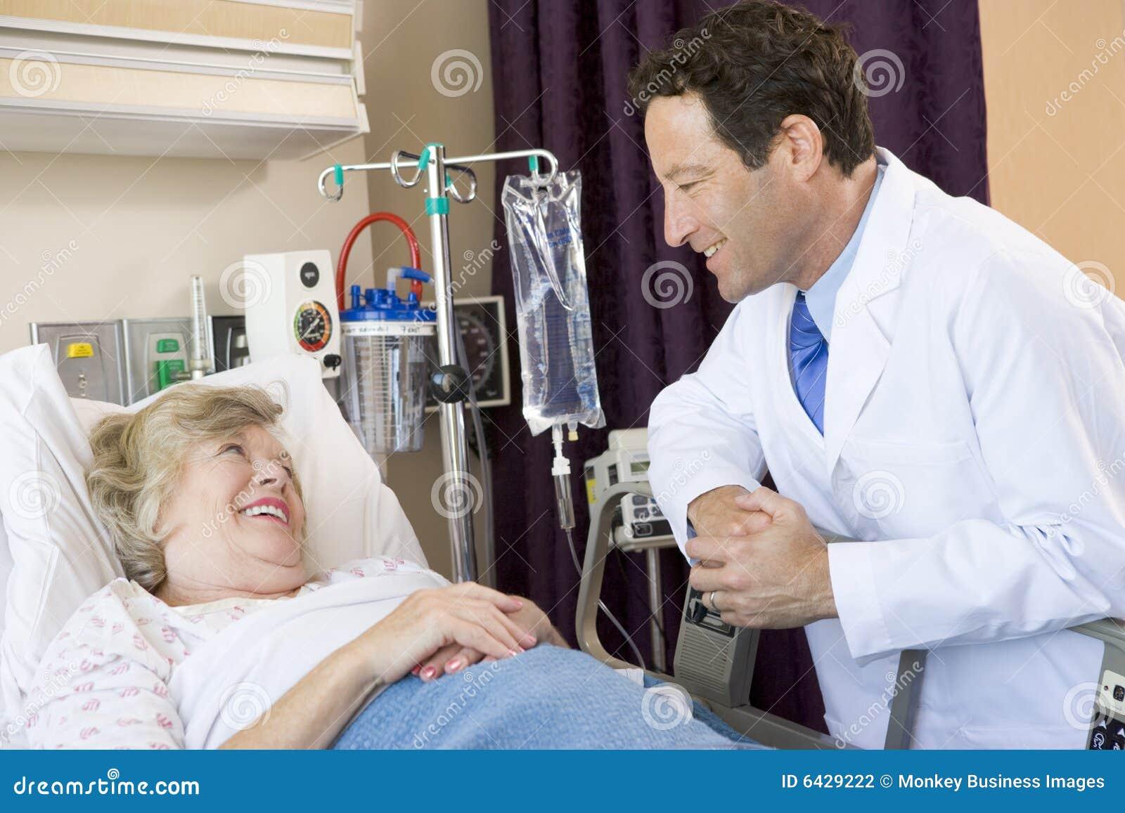 Patient samtal för doktor till