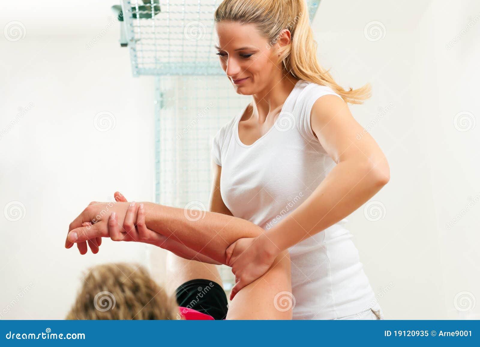 Patient sjukgymnastik