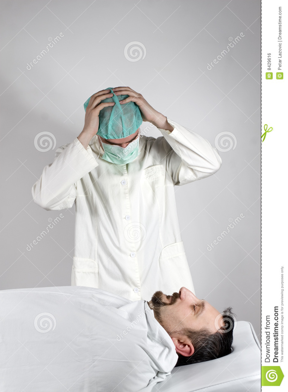 Patient suddenly died