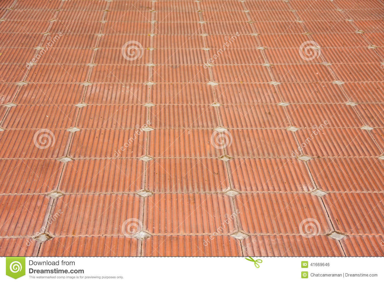 Patio of clay brick tile floor stock photo image of decor patio patio of clay brick tile floor dailygadgetfo Images