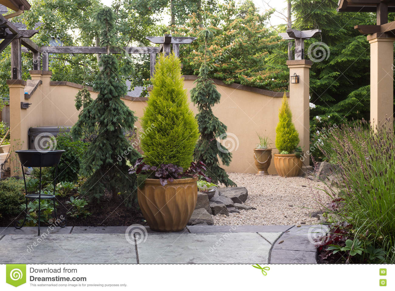 Patio Entrance Stock Photo Image Of Design Style Contemporary