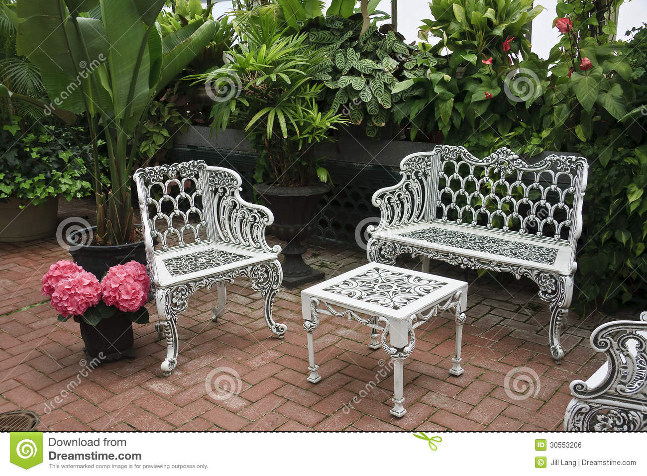 Patio Furniture Royalty Free Stock Image Image