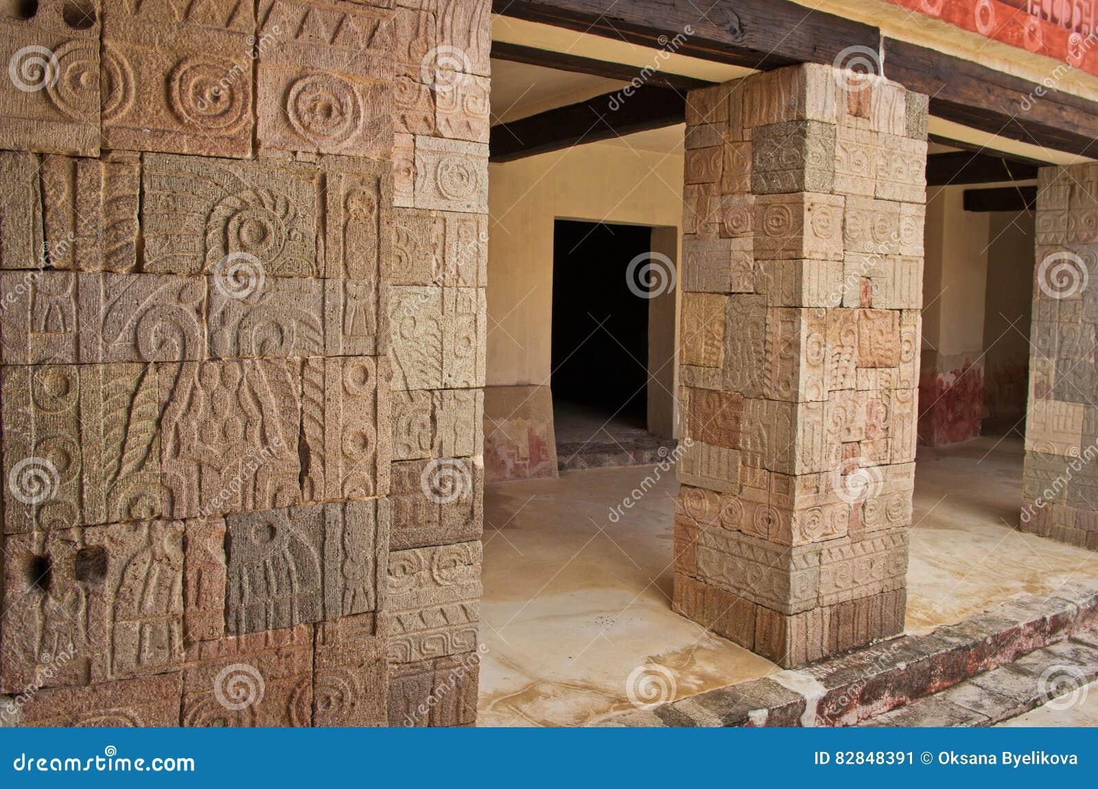 Patio of the Pillars Patio de los Pilares, Teotihuacan