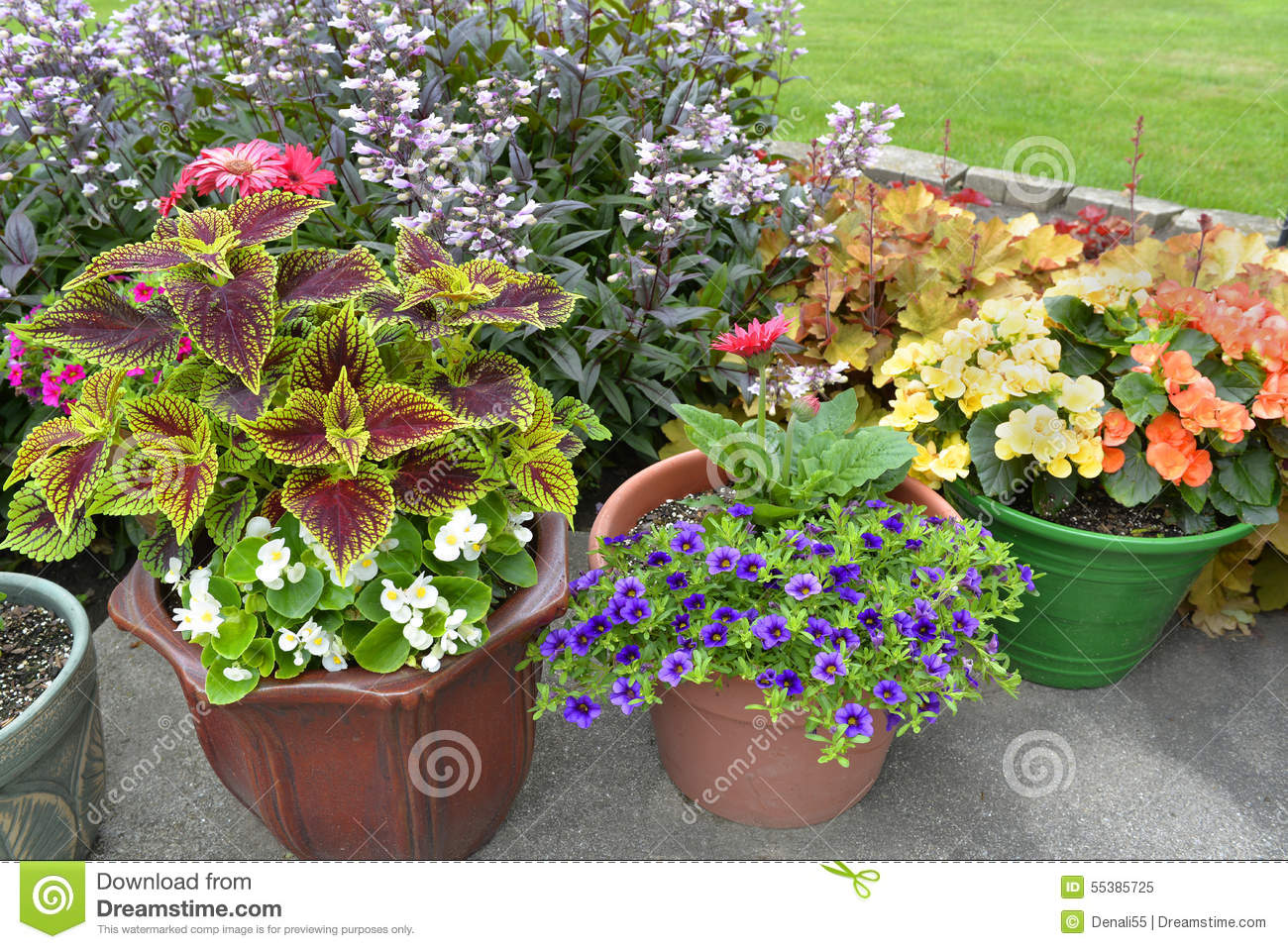 Marvelous Royalty Free Stock Photo. Download Patio Of Potted Plants. ...