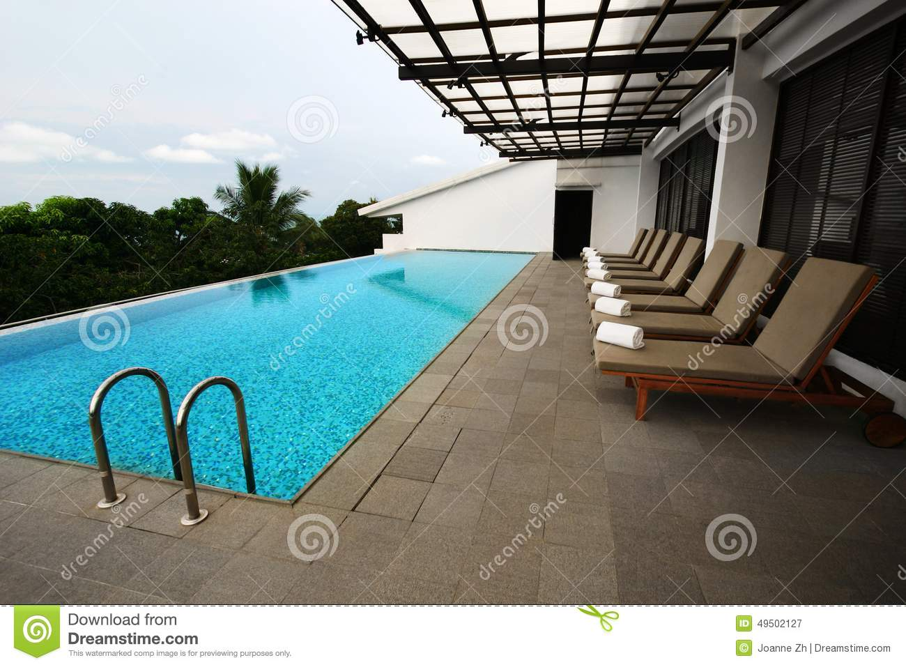 Patio Swimming Pool Design