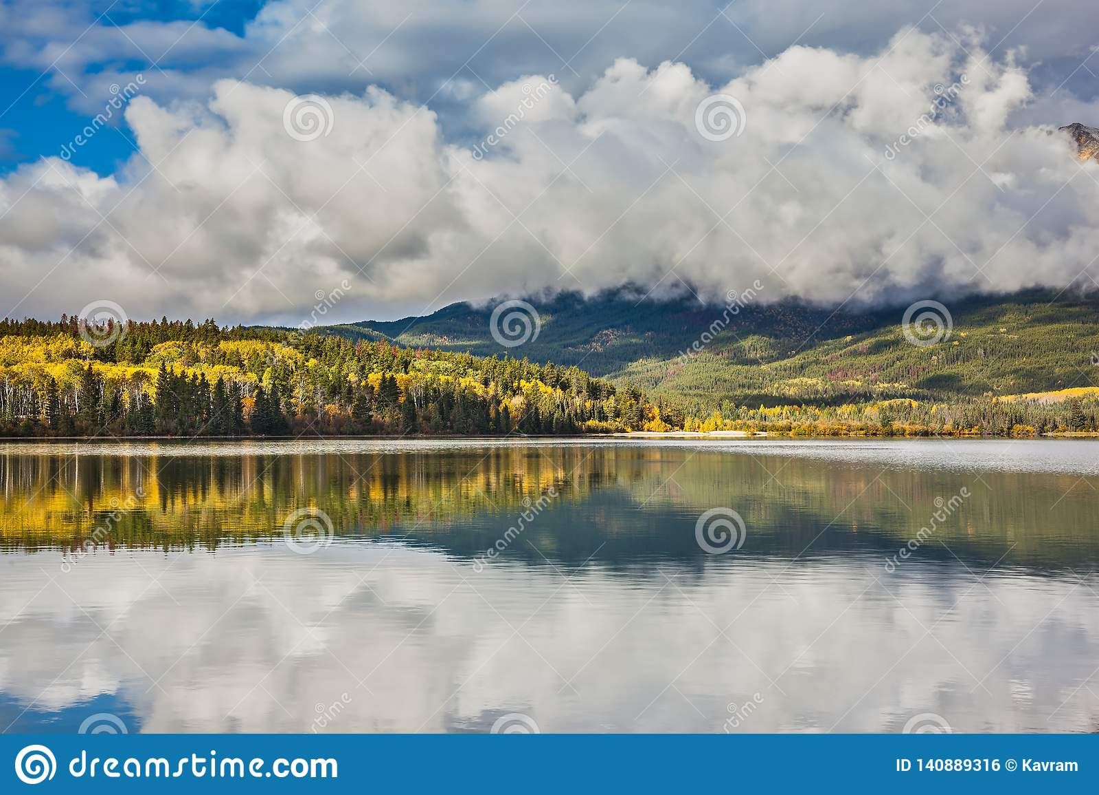 Patricia Lake en Jasper National Park
