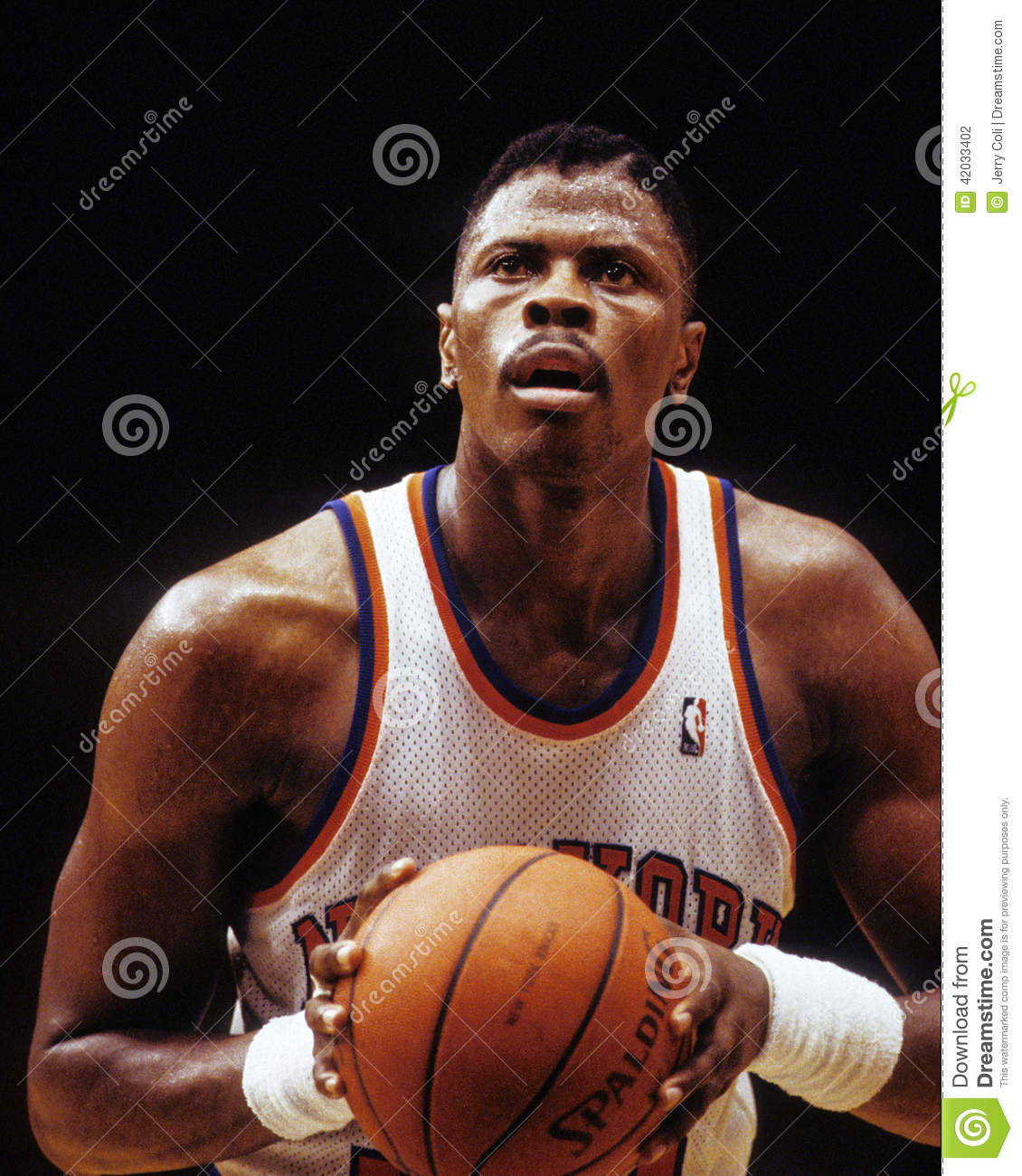 Patrick Ewing New York Knicks