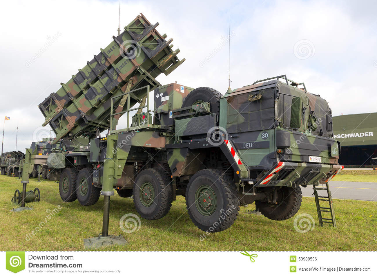 air missile (SAM) system on display during the Laage airbase open #8E813D