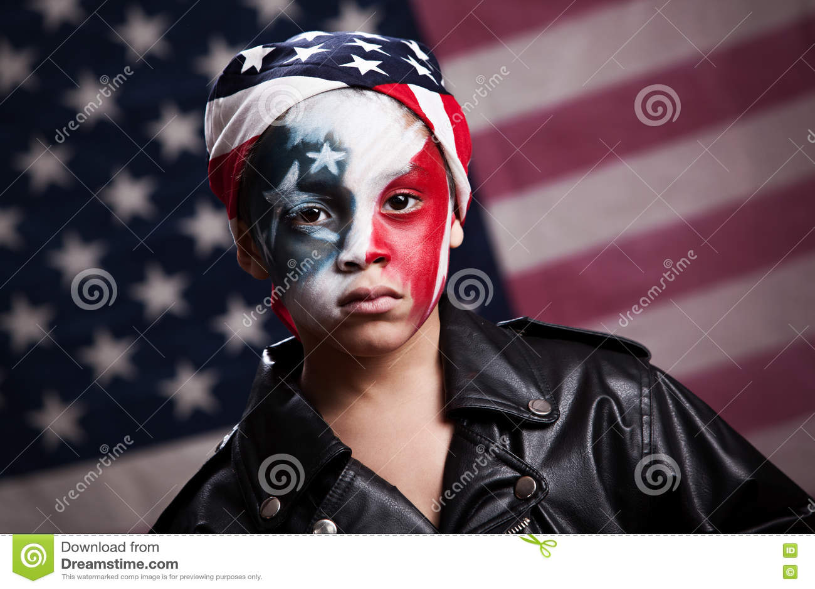 Patriota americano novo