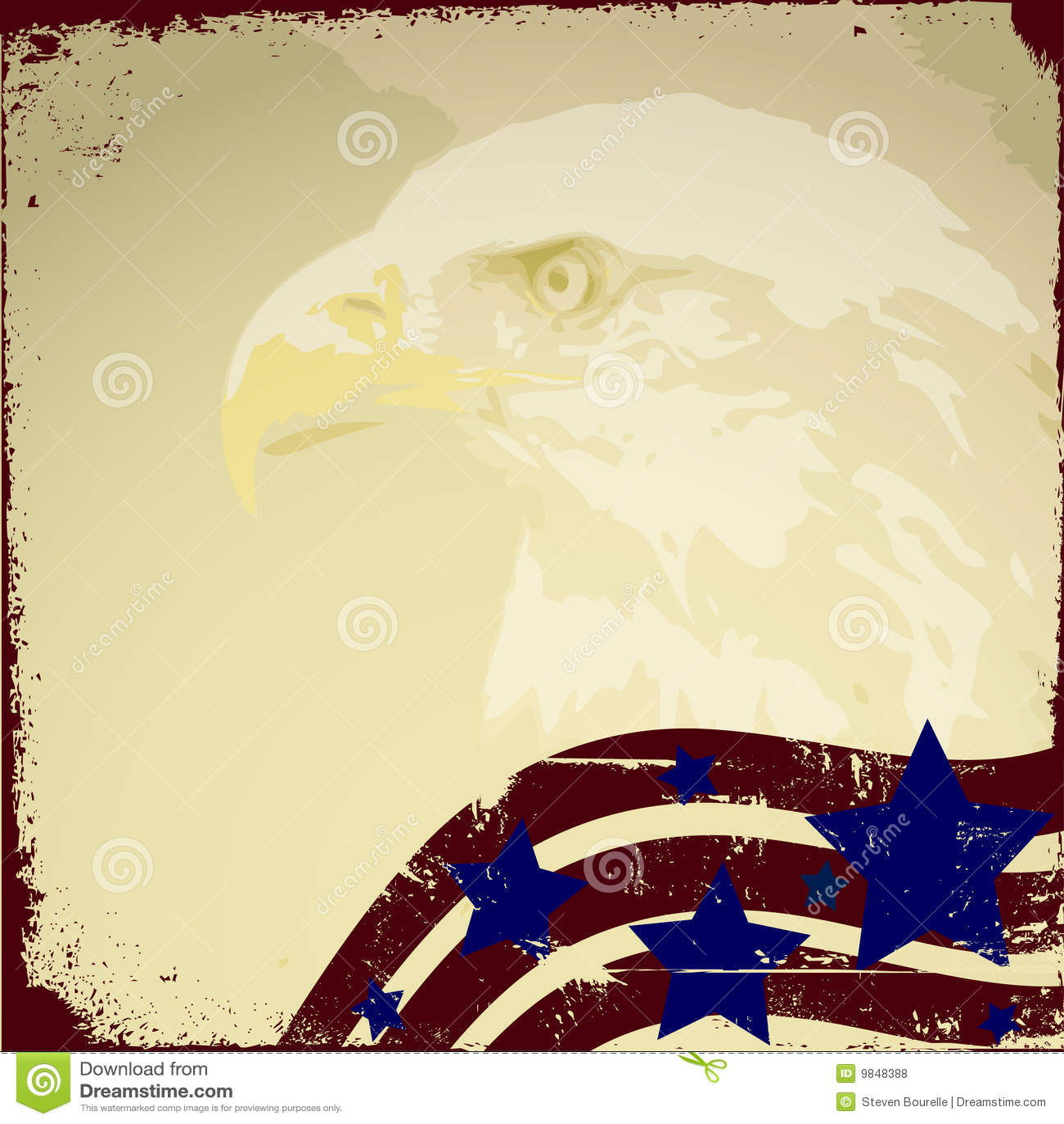 Patriotic Background Royalty Free Stock Photos - Image: 9848388