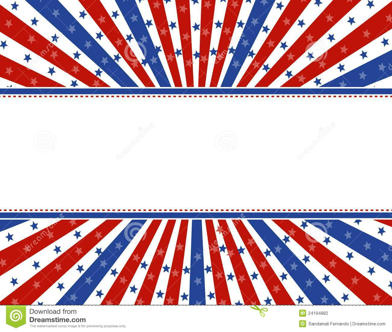 Patriotic border background stock vector illustration of backdrops patriotic border background toneelgroepblik Images