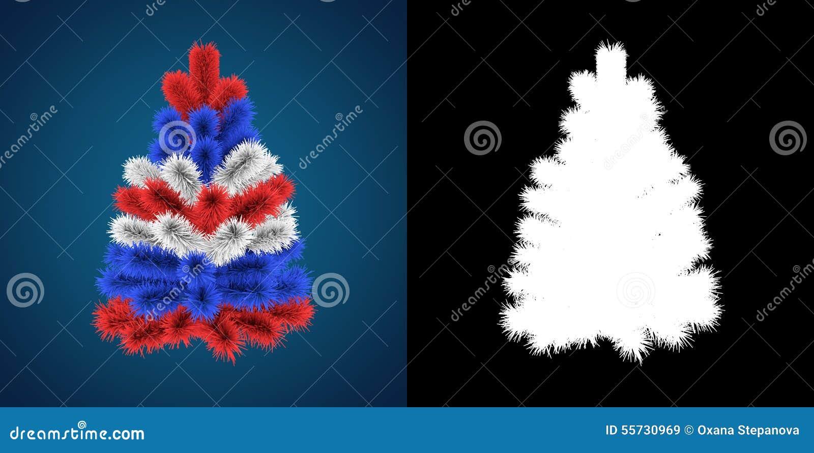 patriotic christmas tree of great britain australia usa new