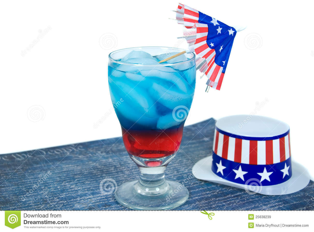 Patriotic Drink Royalty Free Stock Images - Image: 25638239