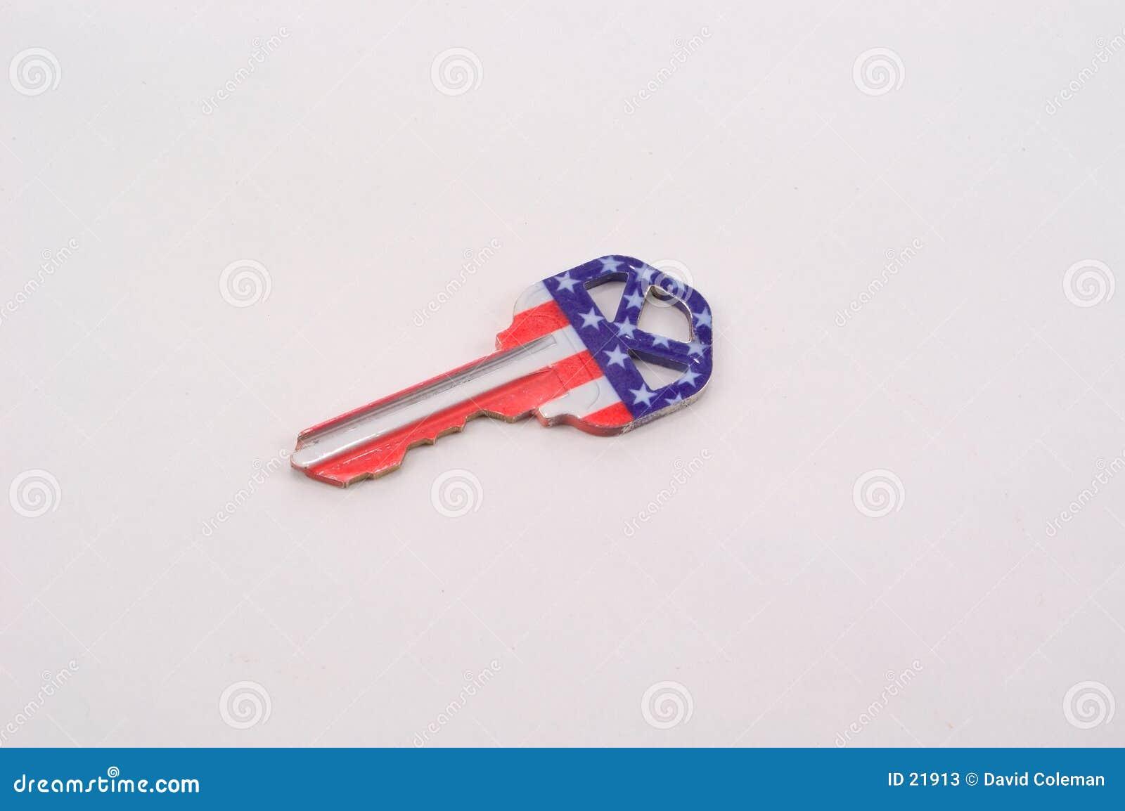 Patriotic Key