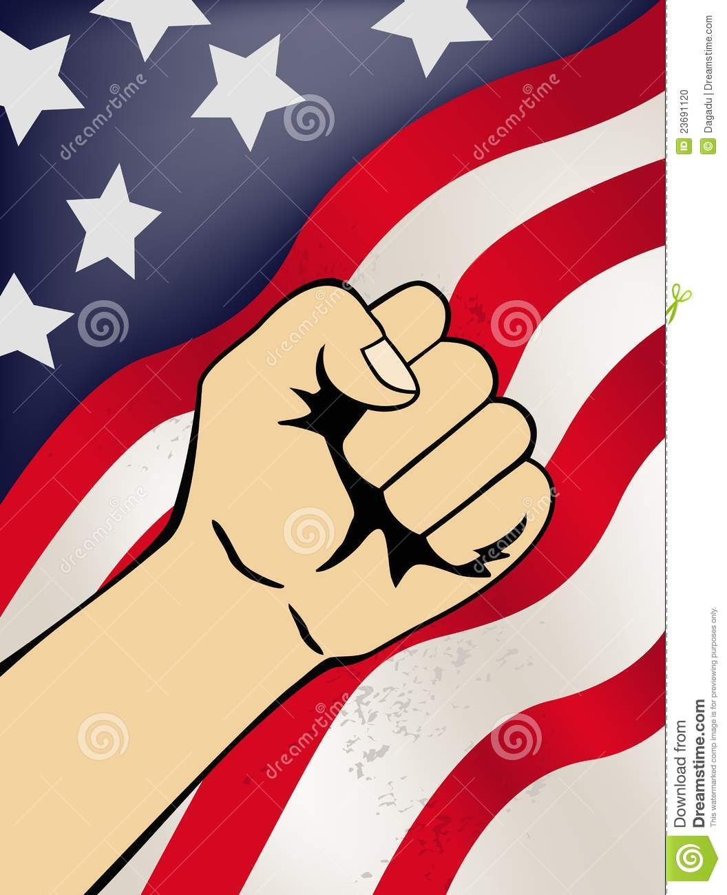 patriotic symbol stock vector image of july government