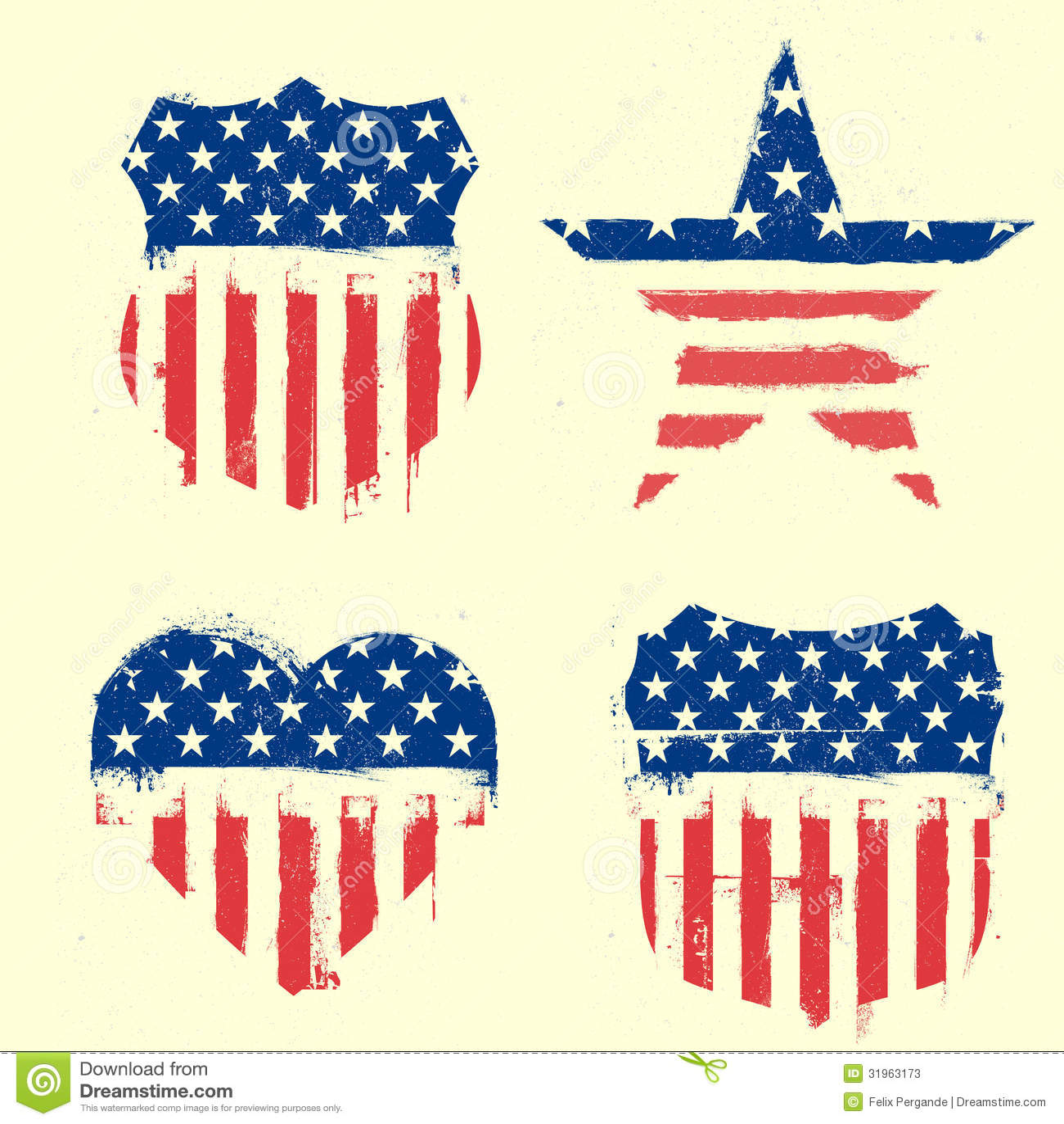 Patriotic symbols stock vector illustration of patriot 31963173 patriotic symbols buycottarizona Choice Image